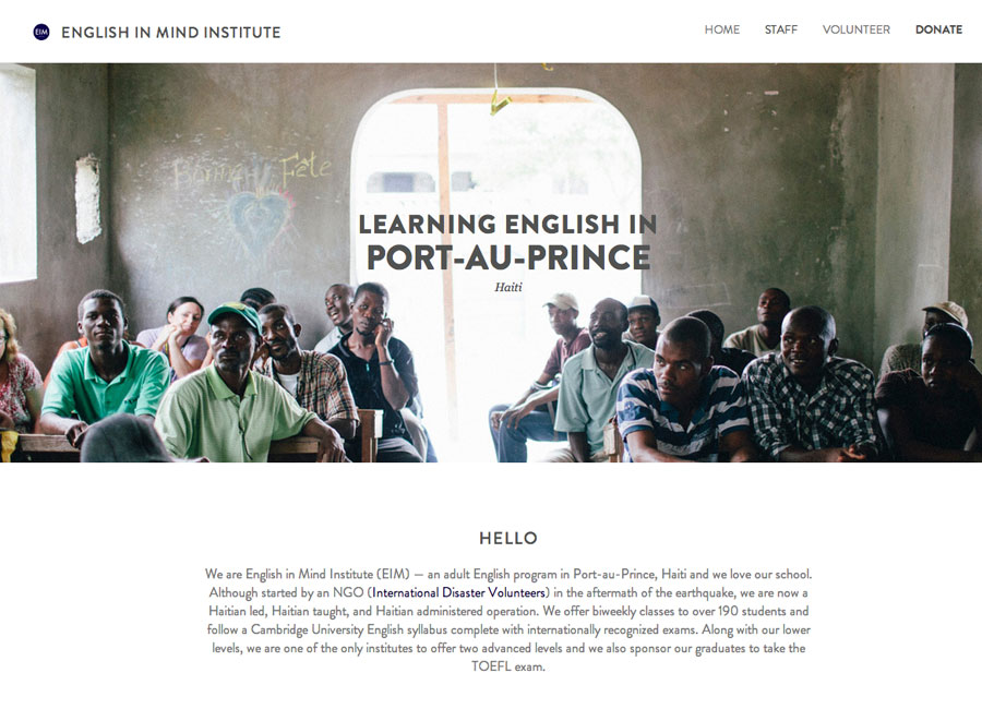 english in mind website