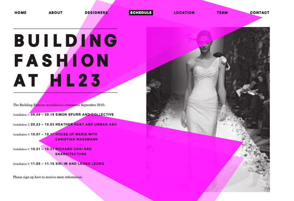 building fashion website