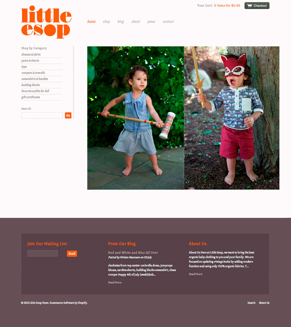 little esop website